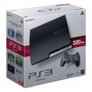 PlayStation 3 Slim 320GB Charcoal Black (CECH-3000B)