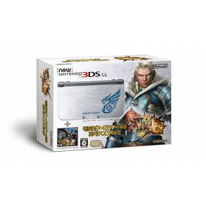 New Nintendo 3DS LL (XL) - Monster Hunter 4G Special Pack [Brand New]