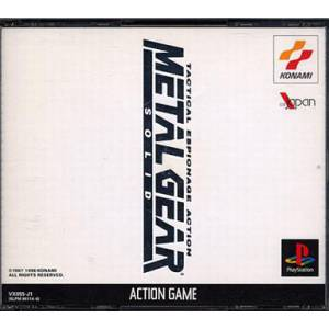 Metal Gear Solid [PS1 - occasion BE]