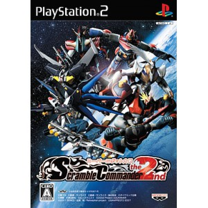 Super Robot Taisen Scramble Commander The 2nd [PS2 - Used Good Condition]