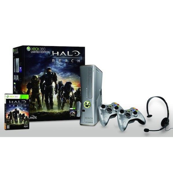 xbox 360 halo reach limited edition 250gb neuve nin nin game com all japan import. Black Bedroom Furniture Sets. Home Design Ideas