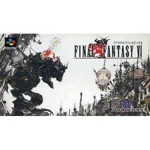 Final Fantasy VI [SFC - Used Good Condition]