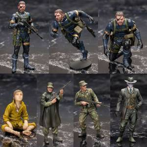 Metal Gear Solid 5 Ground Zeroes - Plastic Model Set [Kotobukiya]