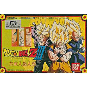 Dragon Ball Z III - Ressen Jinzou Ningen [FC - Used Good Condition]