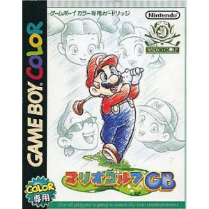 Mario Golf GB [GBC - Used Good Condition]