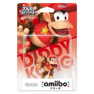 Amiibo Diddy Kong - Super Smash Bros. series Ver. [Wii U]