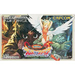 Breath Of Fire - Ryuu No Senshi [GBA - Used Good Condition]