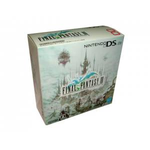 Nintendo DS Lite Final Fantasy III Crystal Edition [brand new]
