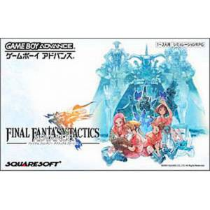 Final Fantasy Tactics Advance [GBA - Used Good Condition]