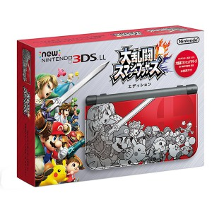 New Nintendo 3DS LL (XL) - Super Smash Bros. Edition [New 3DS Brand New]