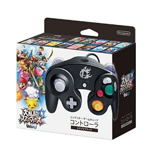 Nintendo GameCube controller Super Smash Bros. Black Ver. [Wii U]