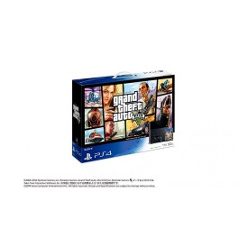 PlayStation 4 Jet Black - Grand Theft Auto V Pack [PS4 - brand new]