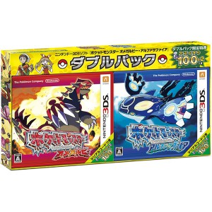 Pokemon Omega Ruby / Alpha Sapphire - Double Pack [3DS]