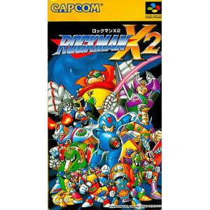 Rockman X2 / MegaMan X2 [SFC - Used Good Condition]