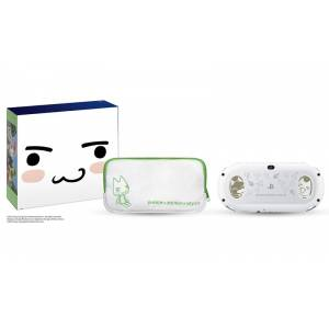 PlayStation Vita × Doko Demo Issyo Limited Edition White [new]