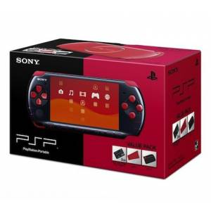 Value Pack PSP-3000 Black/Red [brand new]