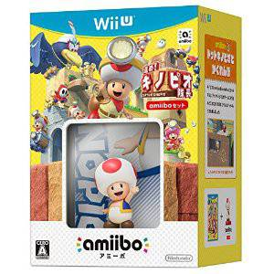 Captain Toad: Treasure Tracker - Amiibo Set [Wii U]