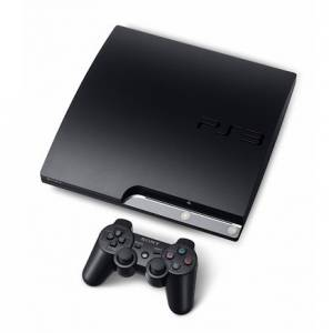 PlayStation 3 Slim 160GB Charcoal Black [occasion]