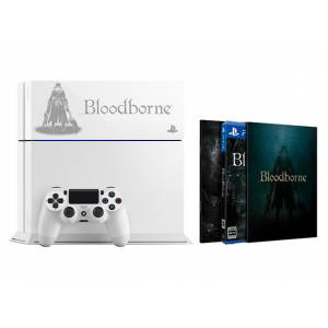 PlayStation 4 Glacier White - Bloodborne Limited EDITION [PS4 - brand new]