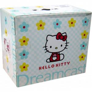 Dreamcast Hello Kitty Bundle Skeleton Blue - in box [Used Good Condition]
