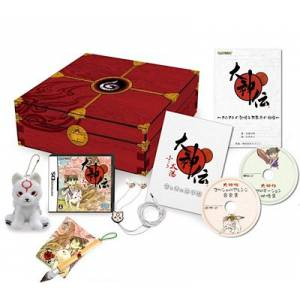 Okami Den - Chisaki Taiyou - e-Capcom Limited Edition [NDS - Used Good Condition]