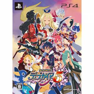 Makai Senki Disgaea 5 First Release Limited Edition [PS4]