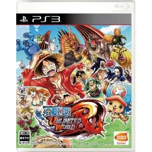 One Piece Unlimited World R [PS3 - Used Good Condition]