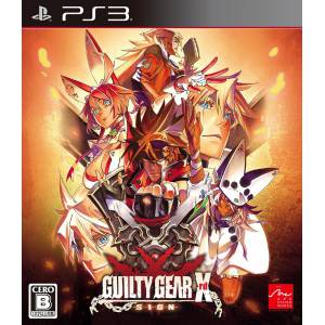 Guilty Gear Xrd -Sign- [PS3 - Used Good Condition]