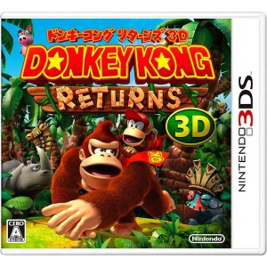 Donkey Kong Returns 3D / Donkey Kong Country Returns 3D [3DS - Used Good Condition]