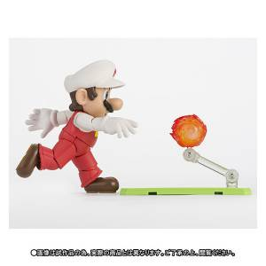 FREE SHIPPING - Super Mario Bros. - Fire Mario - Limited Edition [SH Figuarts]