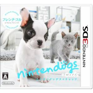 Nintendogs + Cats : French Bulldog Ver. [3DS]