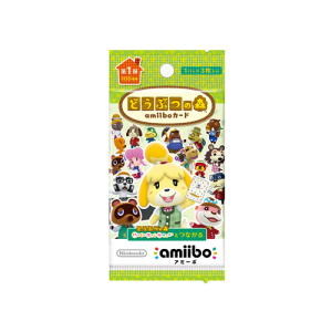 Animal Crossing / Doubutsu no Mori - Amiibo Card First Series Volume 1 [Wii U/3DS]