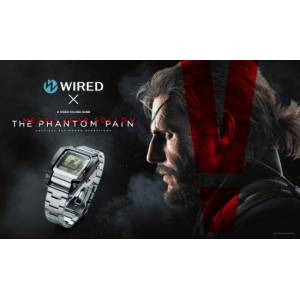 Watch - Wired × Metal Gear Solid V Phantom Pain Limited Edition [Goods]