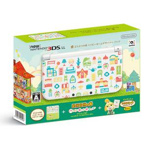 New Nintendo 3DS LL - Animal Crossing / Doubutsu no Mori: Happy Home Designer Limited Edtion [New 3DS Brand New]