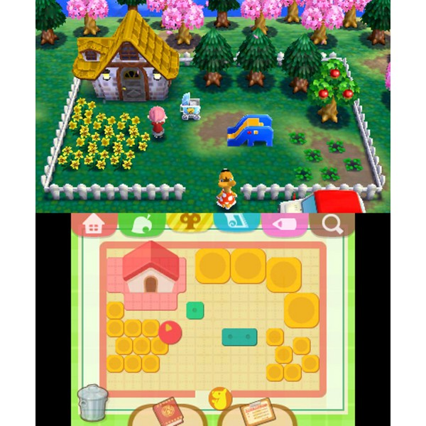 Exceptionnel New Nintendo 3DS LL - Animal Crossing / Doubutsu no Mori: Happy  ZU34