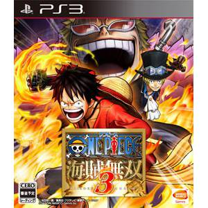 One Piece Kaizoku Musou 3 / Pirate Warriors 3 [PS3 - Used Good Condition]