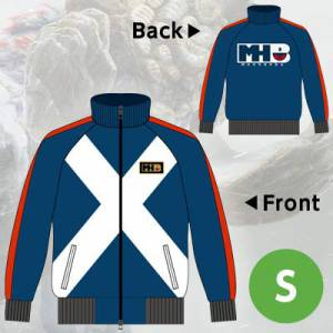 "Monster Hunter X / Cross - ""Gamuto"" Blue Sweat Zip  - Limited Edition e-Capcom [Goods]"