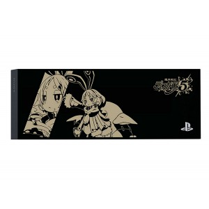 FACEPLATE / HDD BAY COVER PS4 Jet Black - Disgaea 5 Usalia (Black) [PS4 - Brand New]
