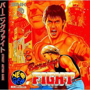 Burning Fight [NG CD - Used Good Condition]