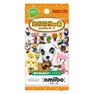 Animal Crossing / Doubutsu no Mori - Amiibo Card First Series Volume 2 50 packs BOX  [Wii U/3DS]