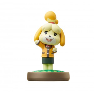 Amiibo Shizue / Isabelle (Winter Ver.) - Animal Crossing series Ver. [Wii U]
