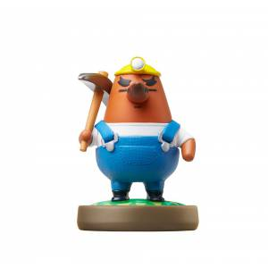 Amiibo Risetto-san / Mr. Resetti - Animal Crossing series Ver. [Wii U]