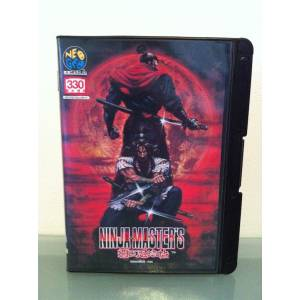 Ninja Master's [NG AES - Used Good Condition]