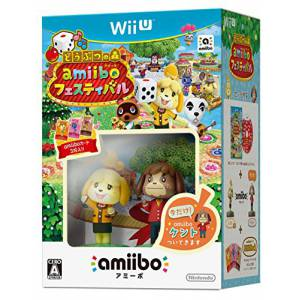 FREE SHIPPING - Animal Crossing / Doubutsu no Mori: amiibo Festival - Shizue & Kento Set [Wii U]