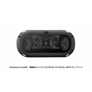 PlayStation Vita Jet Black x Mobile Suit Gundam: Extreme VS Force Premium Box - Limited EDITION [new]