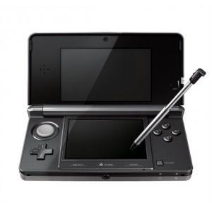 Nintendo 3DS - Cosmo Black [Used]