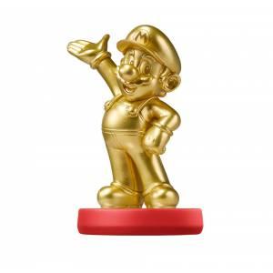 Amiibo Mario Gold - Super Mario Bros. series Ver. [Wii U]