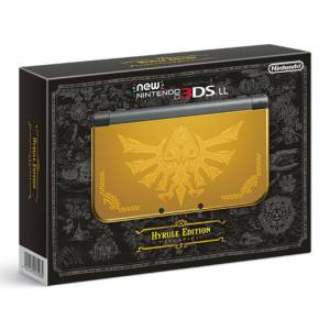 New Nintendo 3DS LL (XL) - HYRULE GOLD Limited Edition [Brand New]