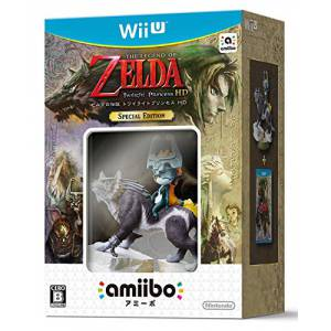 The Legend of Zelda: Twilight Princess HD SPECIAL EDITION (Amiibo Bundle) [Wii U]