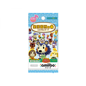 Animal Crossing / Doubutsu no Mori - Amiibo Card First Series Volume 3 [Wii U/3DS]